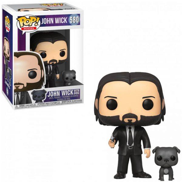 Pop! Movies - John Wick - John Wick with Dog